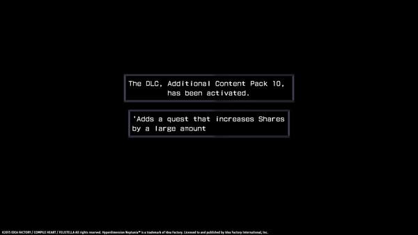 Hyperdimension Neptunia Re;Birth1 Shares Quests (DLC)