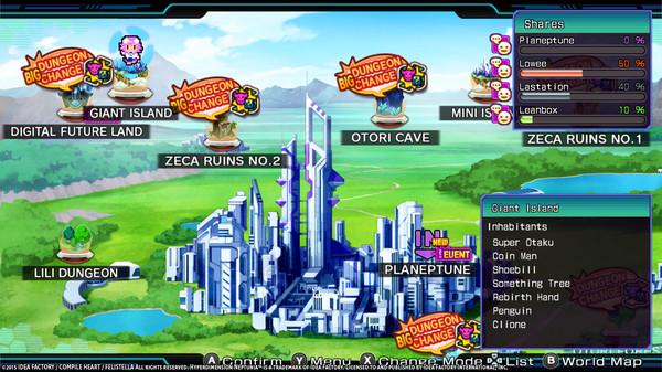 Hyperdimension Neptunia Re;Birth3 Giant Island (DLC)