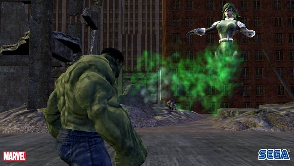 Скриншот из The Incredible Hulk: The Official Videogame