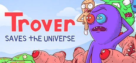 Trover Saves the Universe Capa