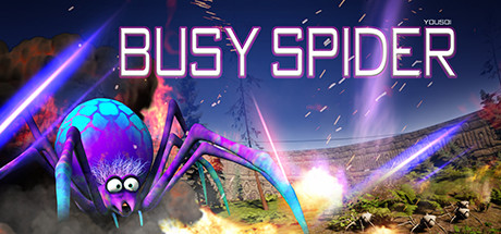 busy spider Capa