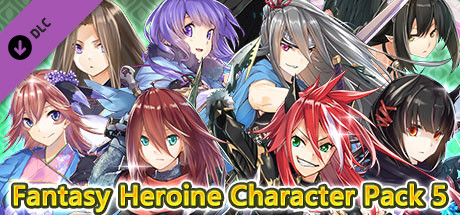 RPG Maker MV - Fantasy Heroine Character Pack 5