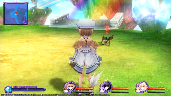 Hyperdimension Neptunia Re;Birth1 Mini Island (DLC)