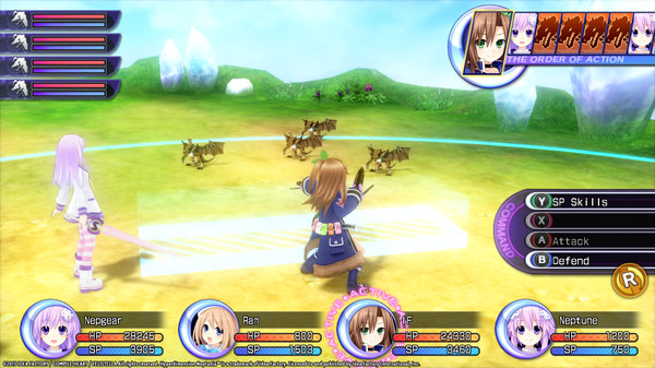 Hyperdimension Neptunia Re;Birth2 Mini Island (DLC)