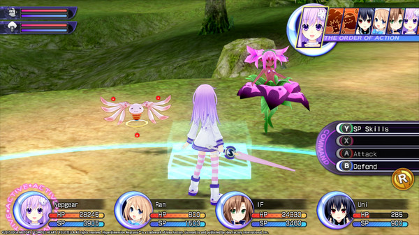 Hyperdimension Neptunia Re;Birth2 Lily-ad Dungeon / リリィダンジョン / CP迷宮 (DLC)