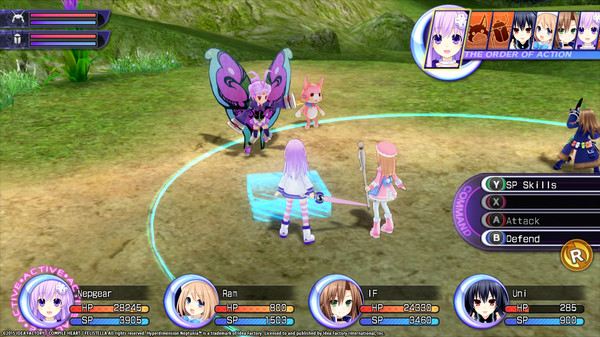 Hyperdimension Neptunia Re;Birth2 Lily-ad Dungeon (DLC)