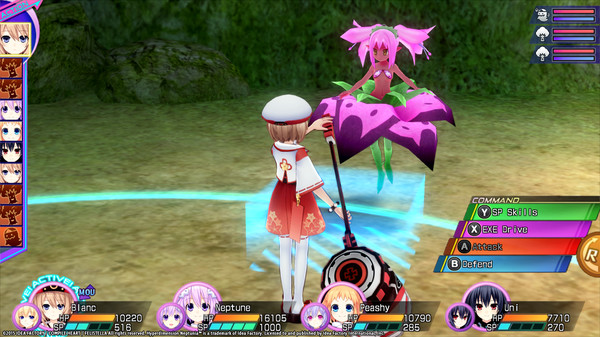 Hyperdimension Neptunia Re;Birth3 Lily-ad Dungeon (DLC)