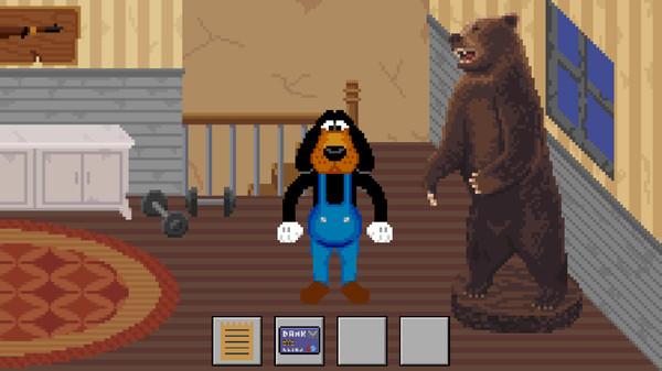Barney's Dream Cruise - A  Retro Pixel Art Point and Click Adventure