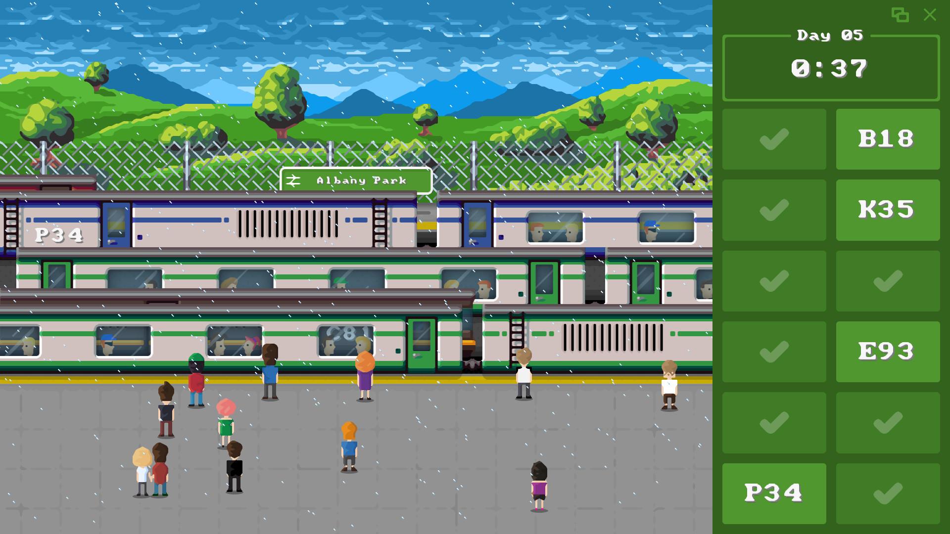 Trainspotter App