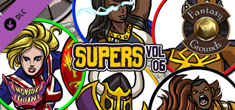 Fantasy Grounds - Supers, Volume 6 (Token Pack)