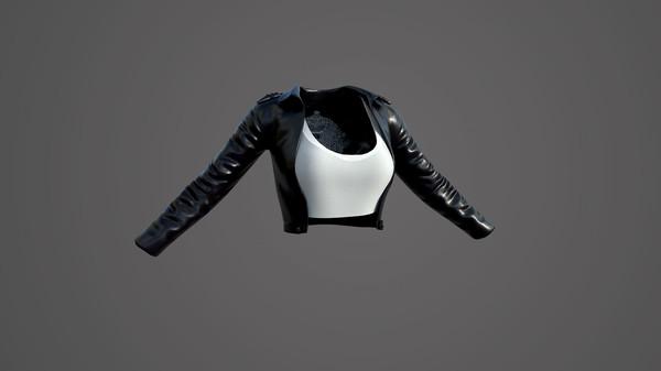小红·修身皮衣服饰包(附送29999灵币) (DLC)