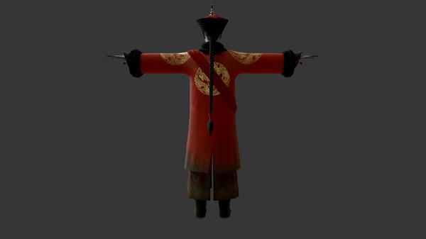"""怨灵小僵-""""灵婚—顾江·绛袍砗磲帽""""服饰(外传剧情皮肤) (DLC)"""