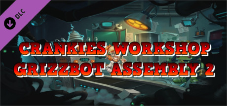 Crankies Workshop: Grizzbot Assembly 2 Wall Paper Set