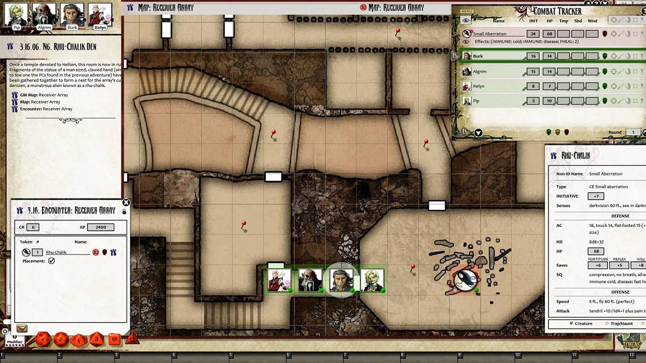 Fantasy Grounds - Pathfinder RPG - Iron Gods AP 2: Lords of Rust (PFRPG)