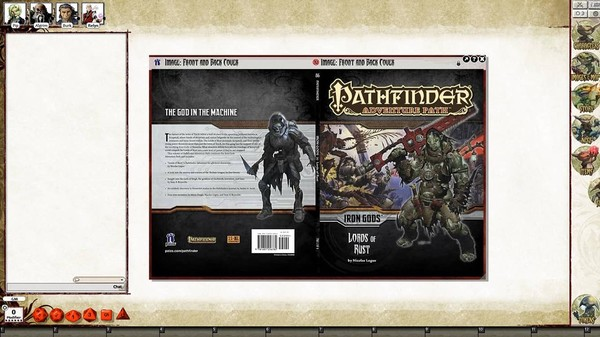 Fantasy Grounds - Pathfinder RPG - Iron Gods AP 2: Lords of Rust (PFRPG) (DLC)