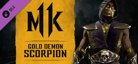 Mortal Kombat 11 Gold Demon Scorpion
