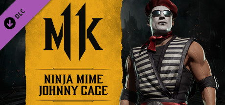 Ninja Mime Johnny Cage