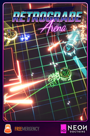 Retrograde Arena poster image on Steam Backlog