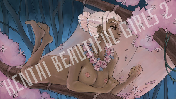 Hentai beautiful girls 2 - Wallpapers +18 (DLC)