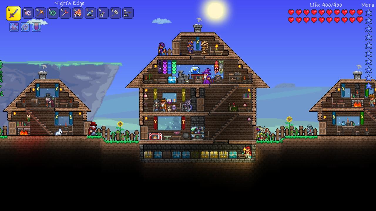 Terraria On Steam - Minecraft 2d jetzt spielen