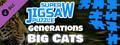 Super Jigsaw Puzzle: Generations - Big Cats Puzzles-dlc