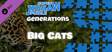Super Jigsaw Puzzle: Generations - Big Cats Puzzles