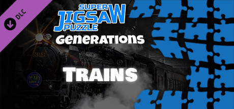 Купить Super Jigsaw Puzzle: Generations - Trains Puzzles (DLC)