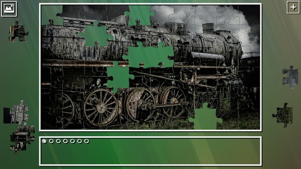 Super Jigsaw Puzzle: Generations - Trains Puzzles (DLC)
