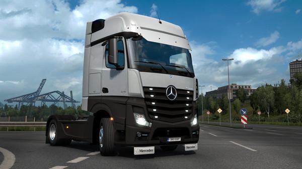 Euro Truck Simulator 2 - Actros Tuning Pack