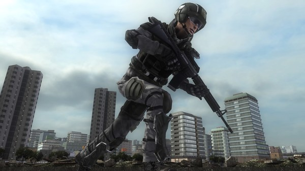 EARTH DEFENSE FORCE 5 - Ranger Support Device Detector S-Type (DLC)