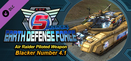 EARTH DEFENSE FORCE 5 - Ranger Piloted Weapon Blacker Number 4.1