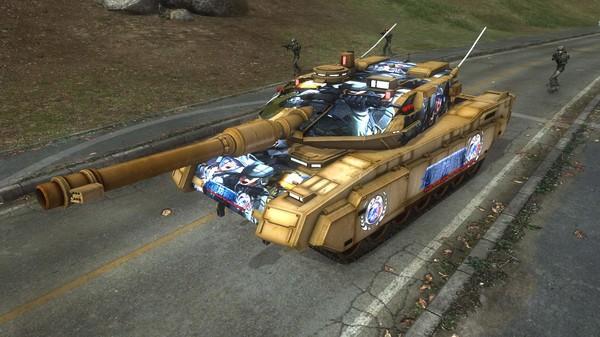 EARTH DEFENSE FORCE 5 - Ranger Piloted Weapon Blacker Number 4.1 (DLC)