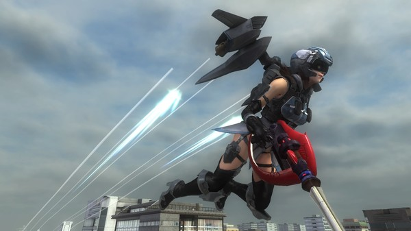 EARTH DEFENSE FORCE 5 - Wing Diver Support Device Reverse Core S-Type (DLC)
