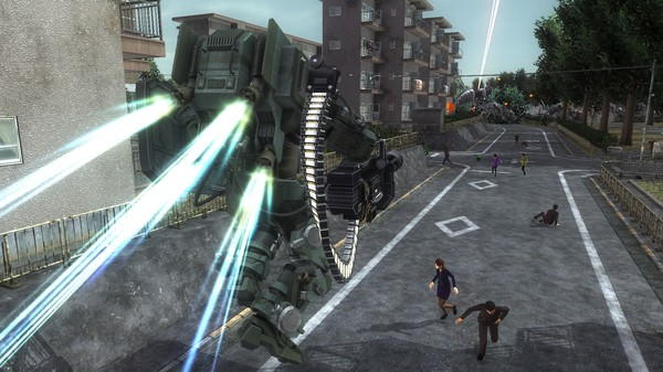 EARTH DEFENSE FORCE 5 - Fencer Support Device Wild Skeleton (DLC)
