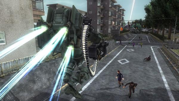 EARTH DEFENSE FORCE 5 - Fencer Support Device Wild Skeleton (DLC)