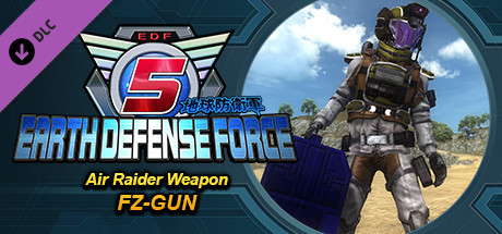 Купить EARTH DEFENSE FORCE 5 - Air Raider Weapon FZ-GUN (DLC)