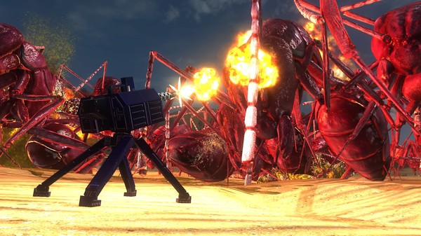 EARTH DEFENSE FORCE 5 - Air Raider Weapon FZ-GUN (DLC)
