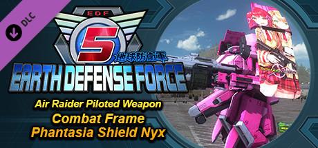 Купить EARTH DEFENSE FORCE 5 - Air Raider Piloted Weapon Combat Frame Phantasia Shield Nyx (DLC)