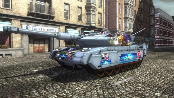 EARTH DEFENSE FORCE 5 - Air Raider Piloted Weapon Blacker Number 5 (DLC)
