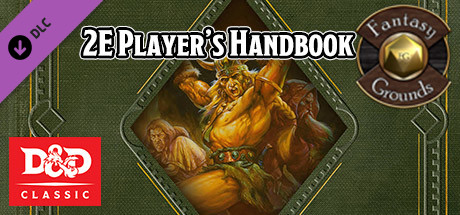 Купить Fantasy Grounds - D&D Classics: Player's Handbook (2E) (DLC)