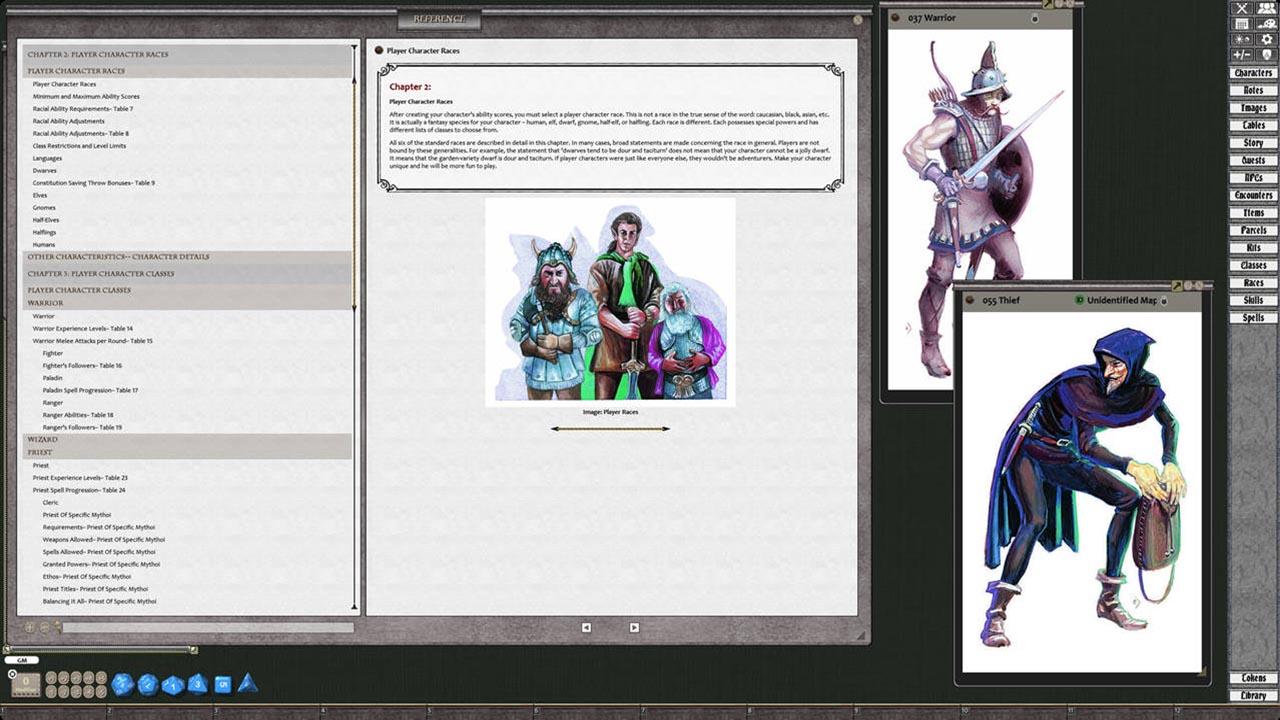 Fantasy Grounds - D&D Classics: Player's Handbook (2E)