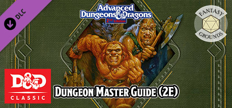 Купить Fantasy Grounds - D&D Classics: Dungeon Master Guide (2E) (DLC)