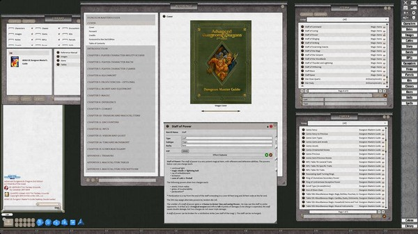 Fantasy Grounds - D&D Classics: Dungeon Master Guide (2E) (DLC)