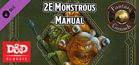 Fantasy Grounds - D&D Classics: Monstrous Manual (2E)