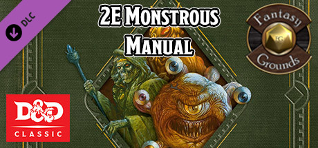 Fantasy Grounds - D&D Classics: Monstrous Manual (2E)