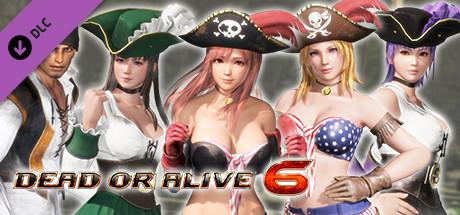 DOA6 Pirates of the 7 Seas Costumes Vol.1 Set