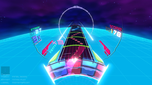 Screenshot of Spin Rhythm XD