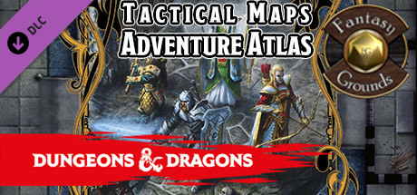 Fantasy Grounds - Dungeons & Dragons Tactical Maps: Adventure Atlas