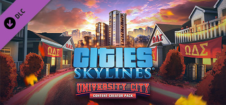 Save 50 On Cities Skylines Content Creator Pack University City On Steam