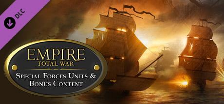 Empire: Total War - Special Forces Units & Bonus Content